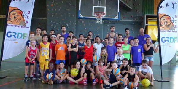 Très beau succès de notre après midi basket pour les plus jeunes et un grand merci à notre partenaire GRDF.